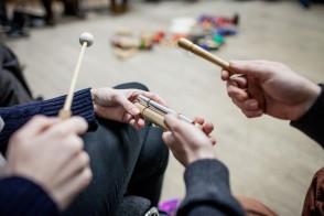 Live Music Now - Musicians' Practice Forum. Photo courtesy of Live Music Now; Photographer: Ivan Gonzalez