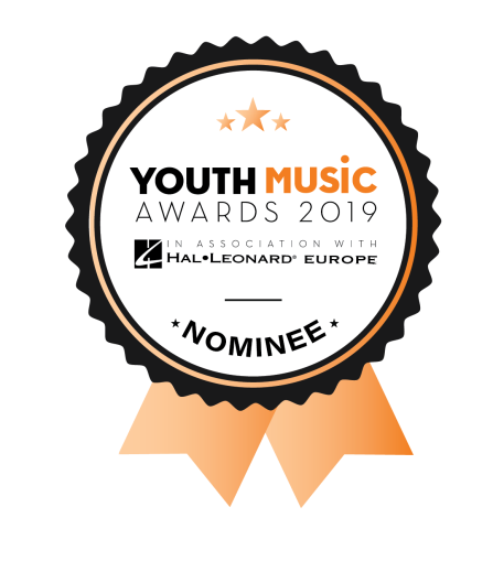 Youth Music Awards - nominee badge